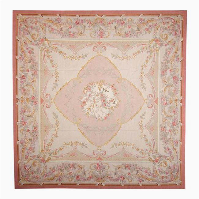 12 X 12 Wool area Rug Pasargad Carpets 114 R 12x12 12 X 12 Ft Aubusson Hand