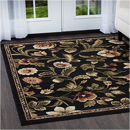 home dynamix optimum amell area rug 7 8 x10 4 traditional area rug black burgundy ivory
