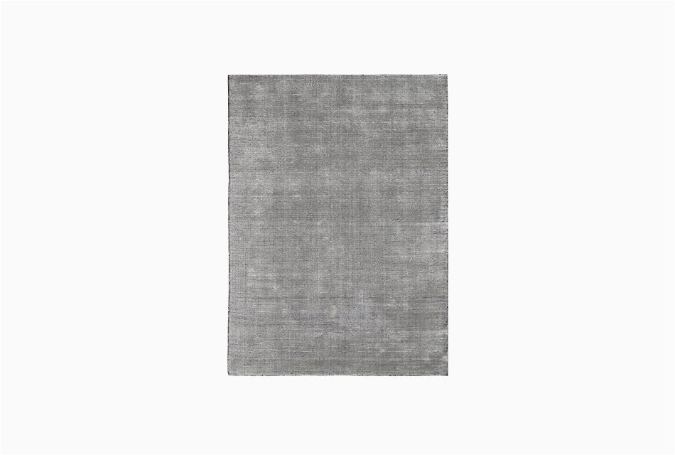 divine dark gray viscose bl 8x10 area rug