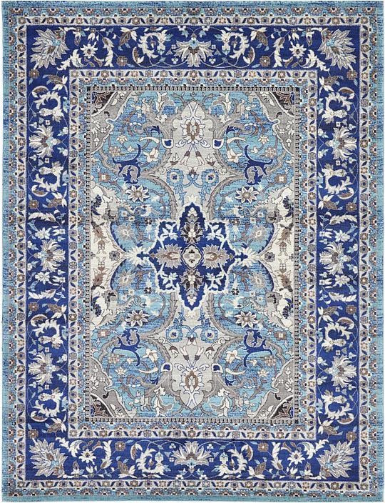 blue 9x12 heritage area rug 33132735