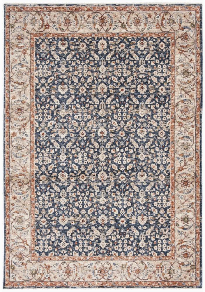 ralph lauren power loomed lrl1345n navy beige 9 x 12 area rug