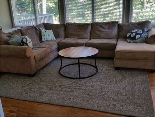 what size area rug for sectional sofa