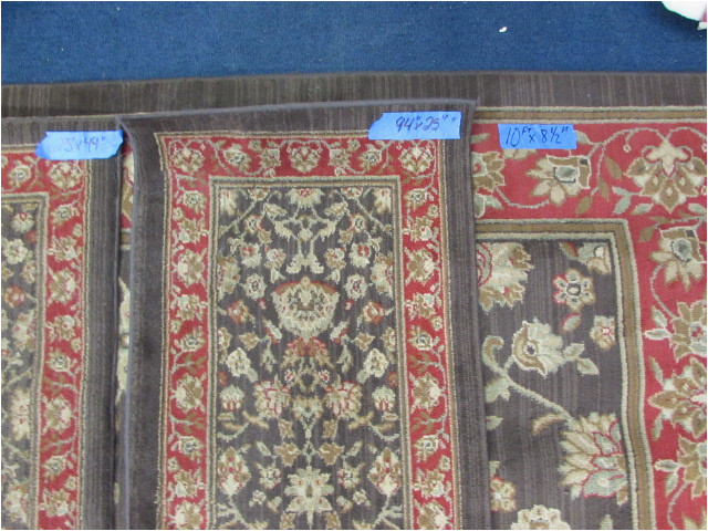 area rug with matching runner accent rugs lot28109