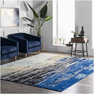area rug that looks like water