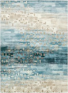 area rugs that look like water