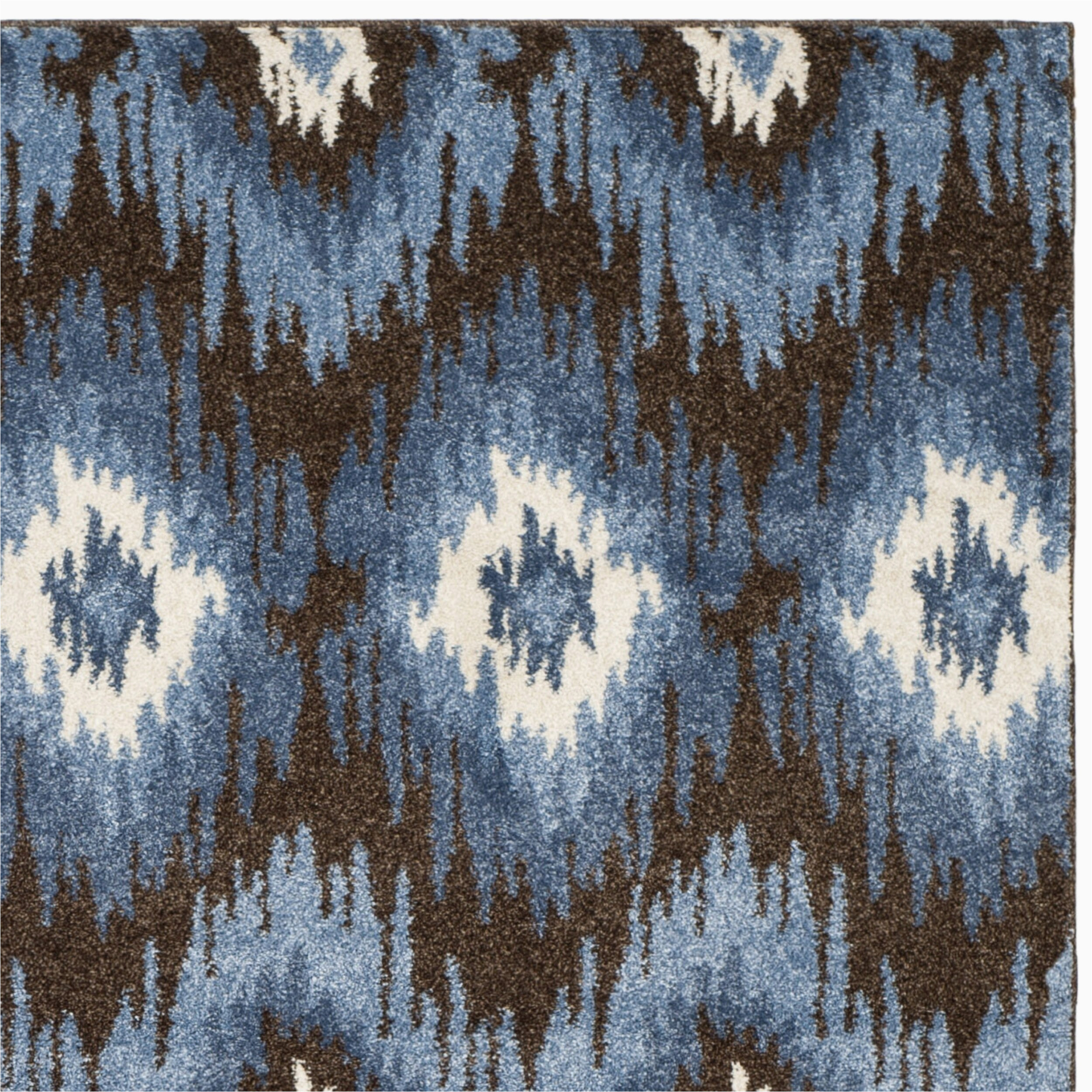 safavieh retro dark brown blue rug ret2143 2865 fv34922