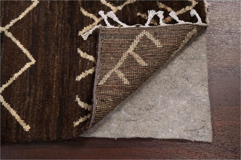 dark brown moroccan oriental area rug 3x5
