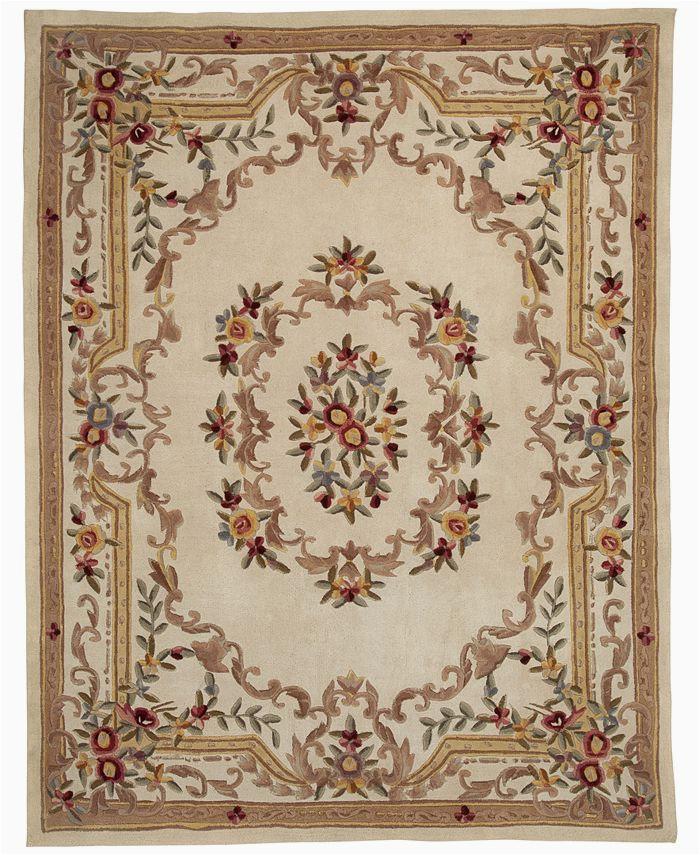 closeout km home majesty aubusson 5 x 8 area rug created for macysid2424464