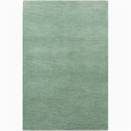 Mint Green area Rug 8×10 8 X 10 5 Mint Green Hand Woven New Zealand Wool