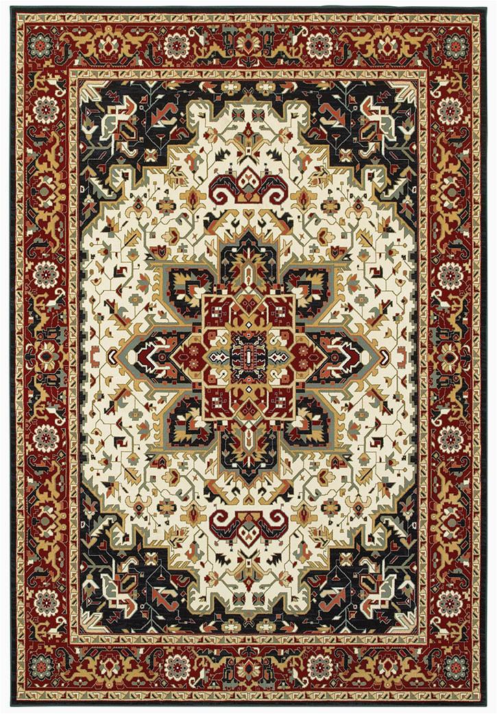 oriental weavers kashan 96w area rug p 21429