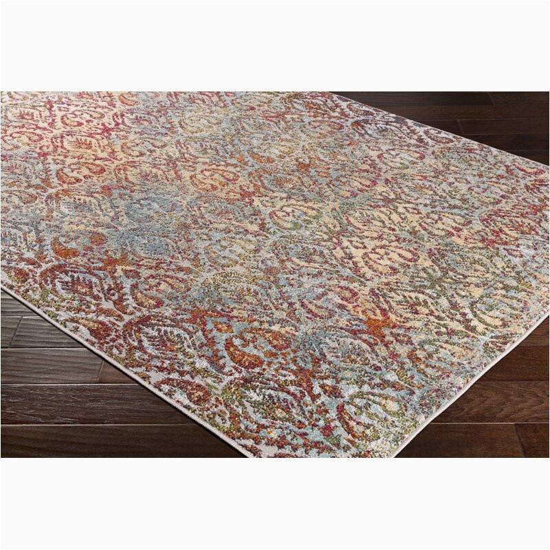 ragland modern teal area rug wrmg6559