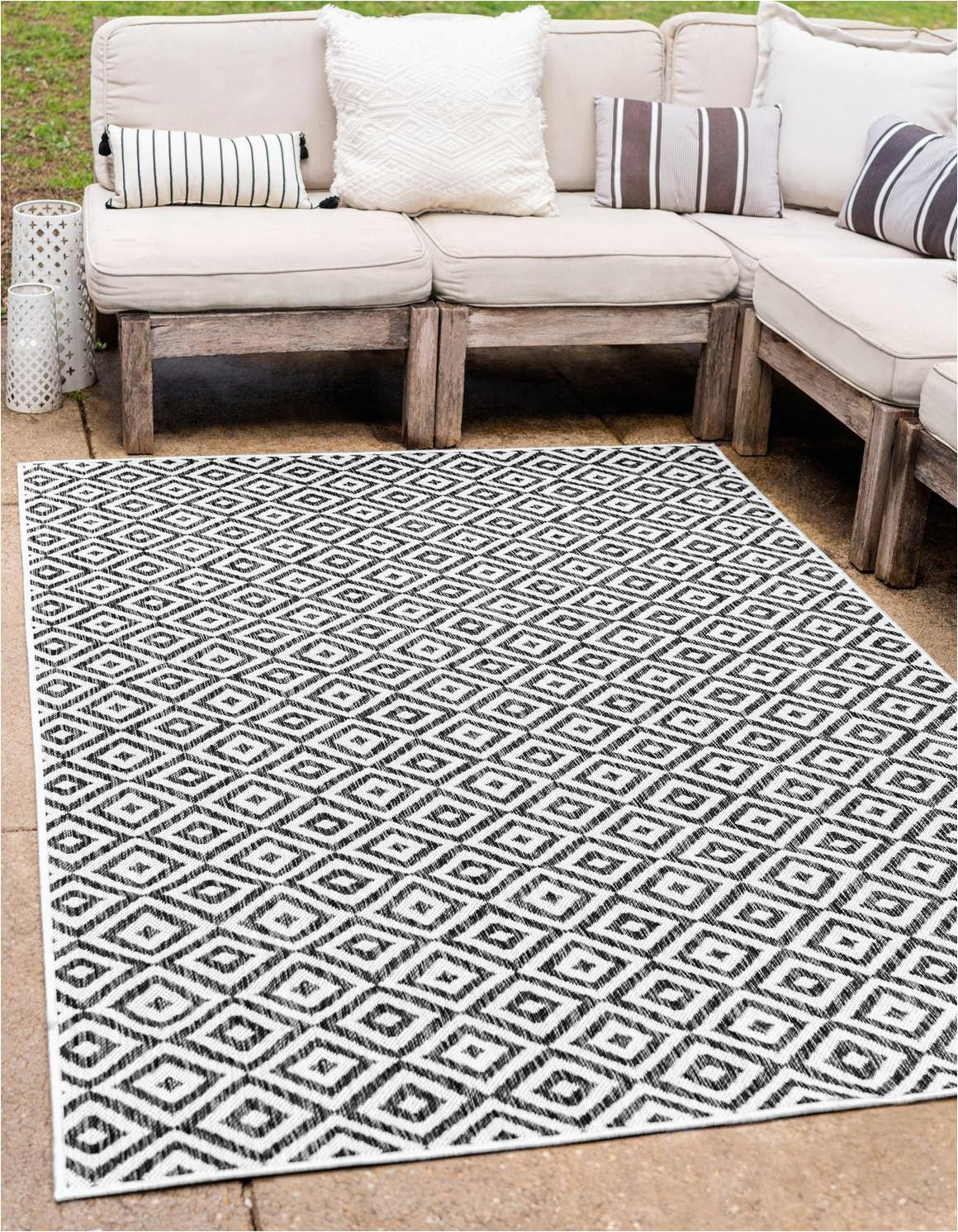 10 X 10 Outdoor area Rug Black Jill Zarin 7 10 X 10 Jill Zarin Outdoor Rug