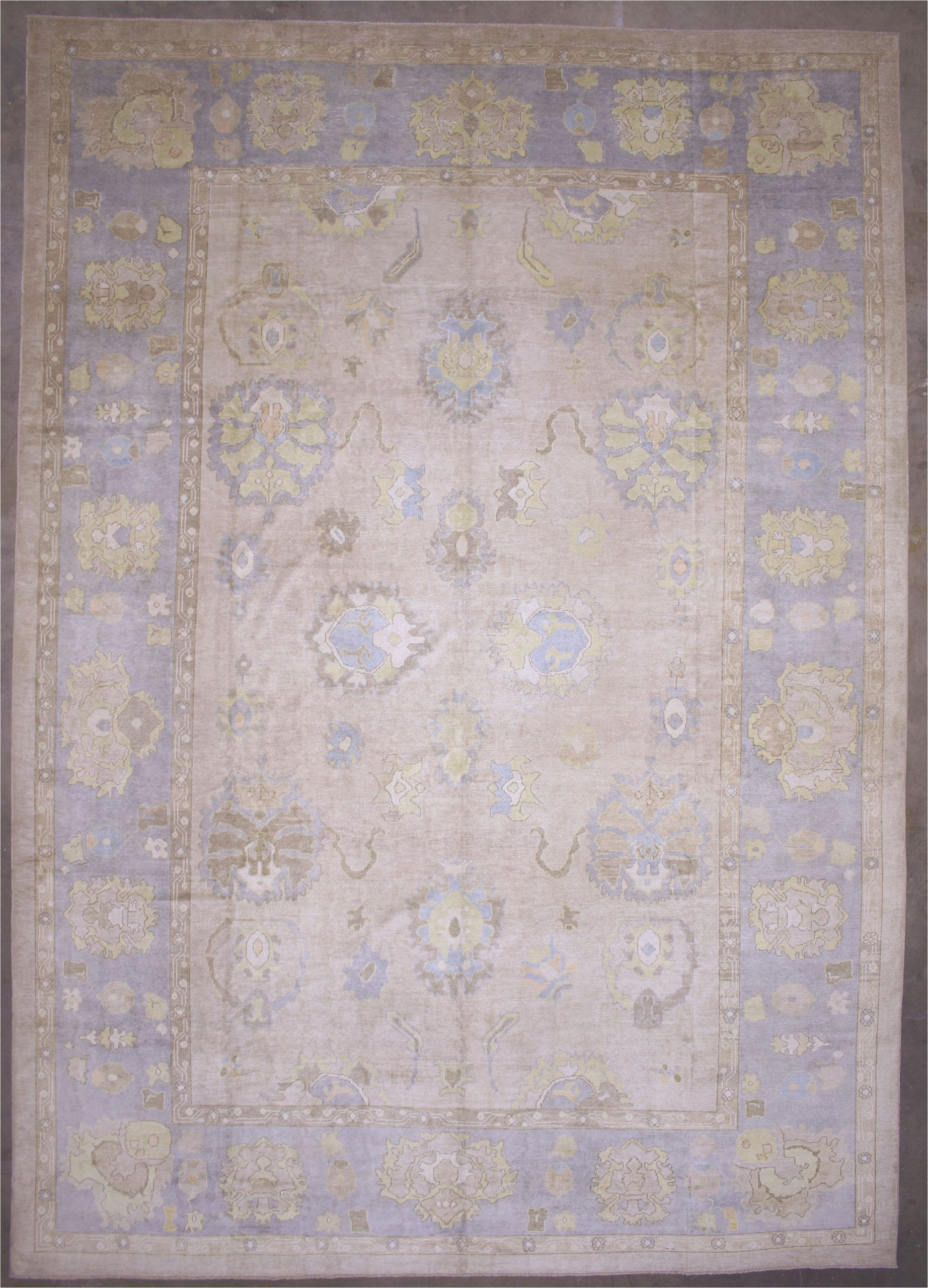 14 X 20 area Rug 14×20 Brown Modern Oushak area Rug