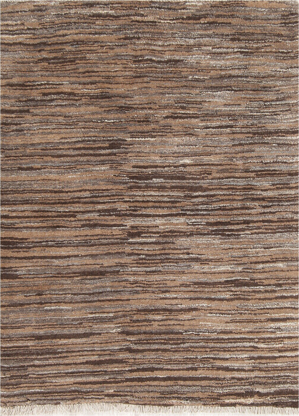 "36 X 48 area Rug E Of A Kind Bro Hand Knotted New Age Brown 3 6"" X 4 8"" Wool area Rug"