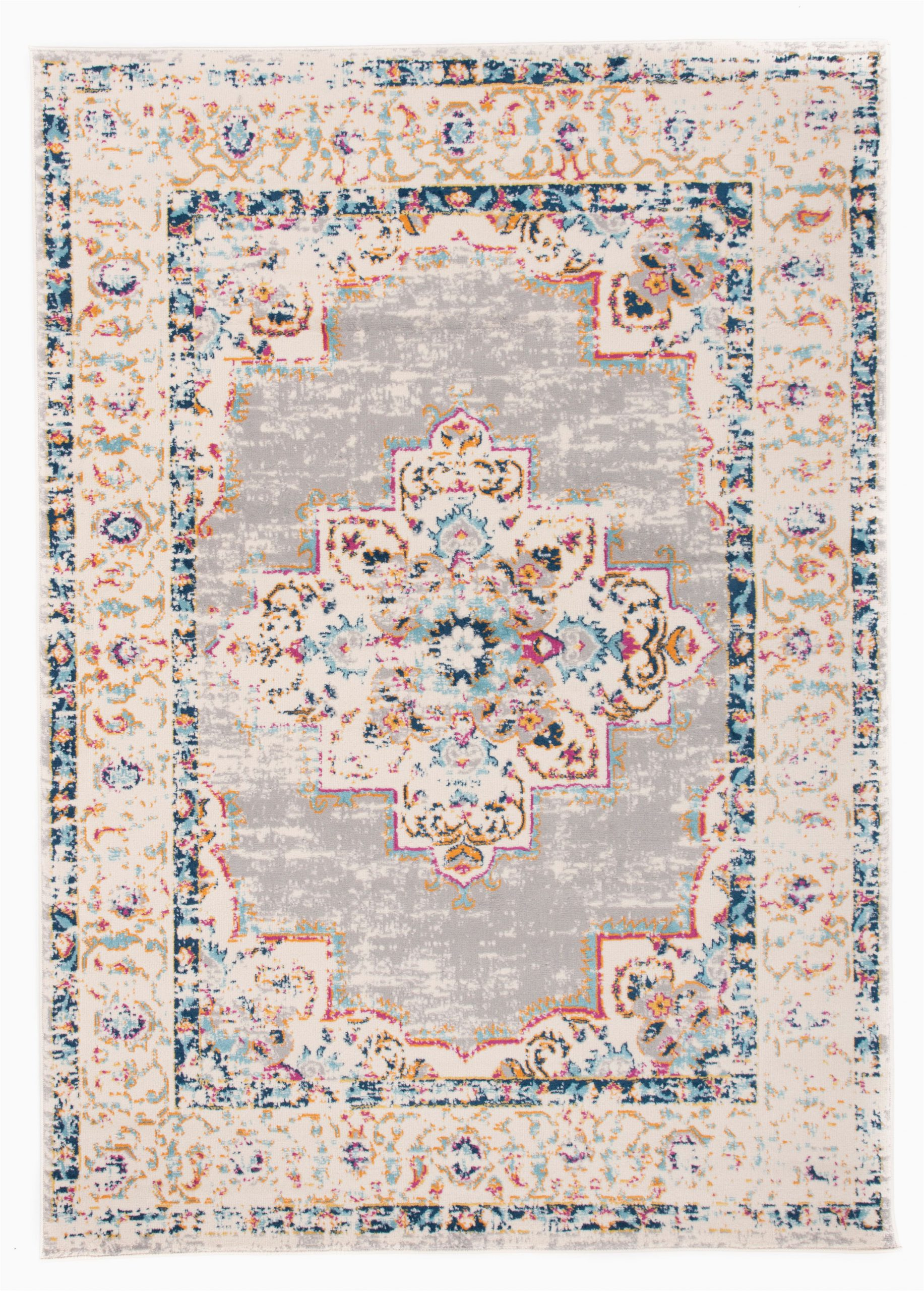 5 by 7 area Rugs at Walmart Bohemian Medallion Distressed Design area Rug 5 X 7 Gray