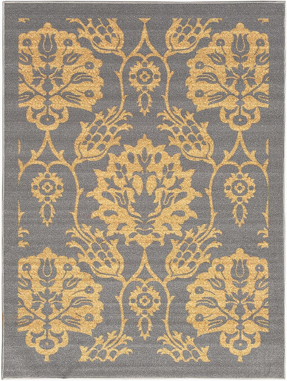5×7 Rubber Backed area Rug 5 Feet X 7 Feet Non Skid Rubber Backed area Rug