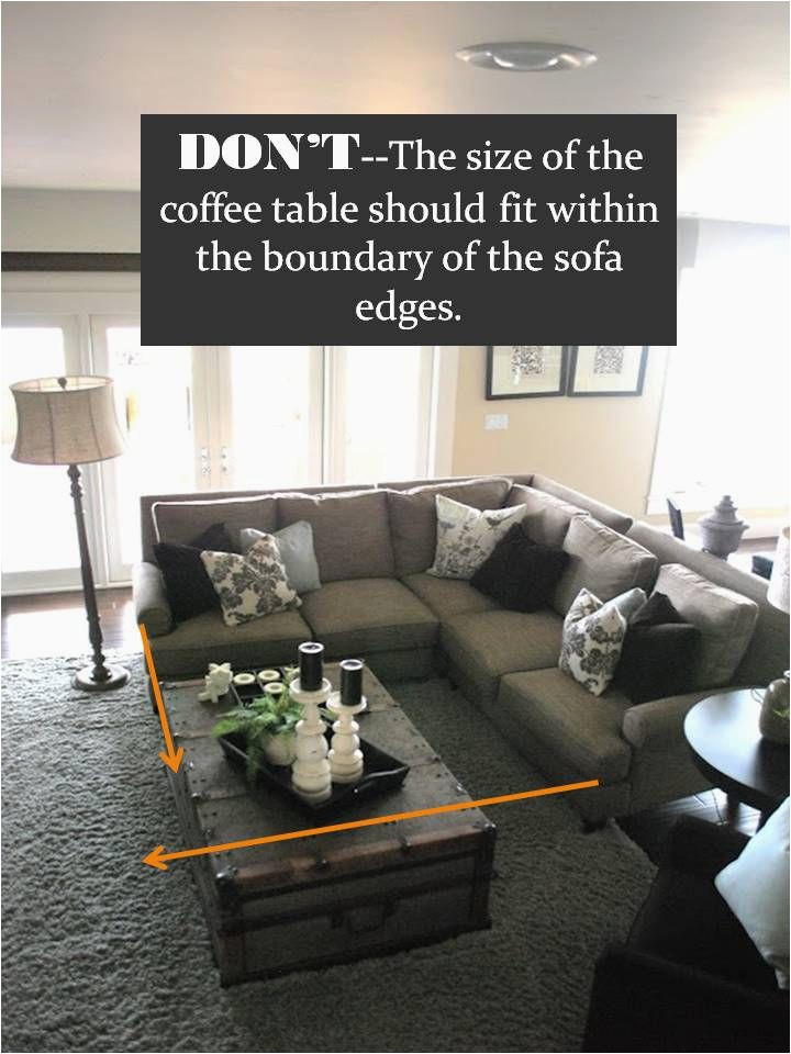 Area Rug Size for Sectional sofa Design Guide How to Style A Sectional sofa