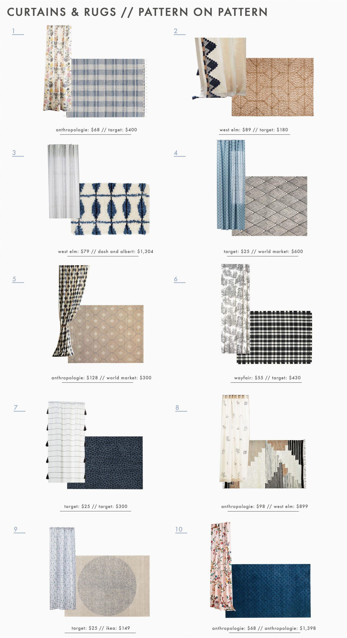Area Rug with Matching Curtains Power Couples How to Expertly Pair Curtains & Rugs 30
