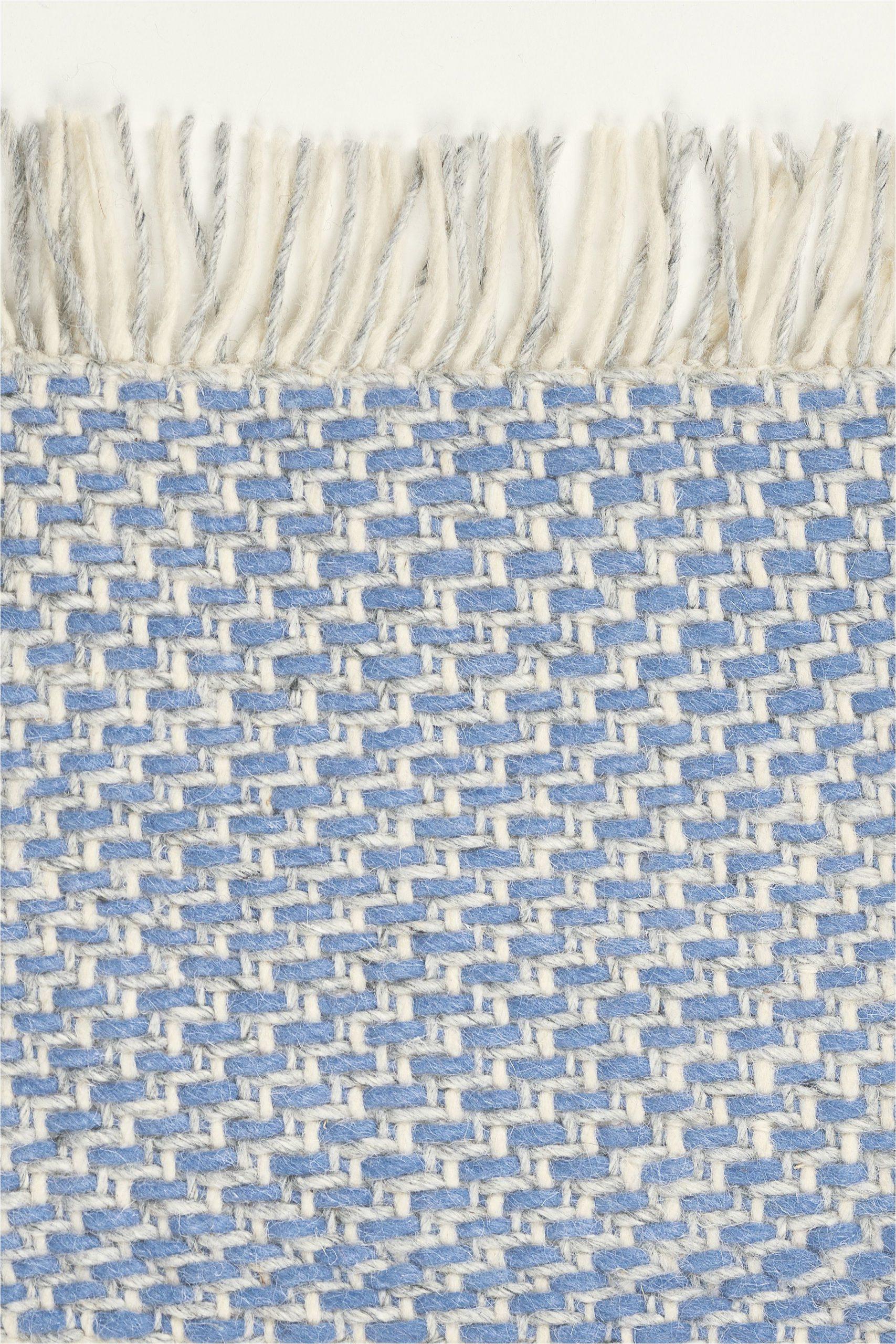 Flat Weave Blue Rug Craft Blue Rug atelier Rugs Modern Rugs