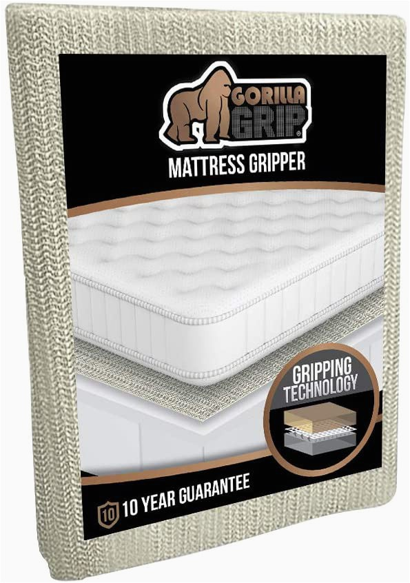 "Gorilla Grip Non Slip area Rug Pad the original Gorilla Grip Non Slip area Rug Pad & Mattress Gripper Made In Usa Available In Many Sizes Queen 54"" X 72"""