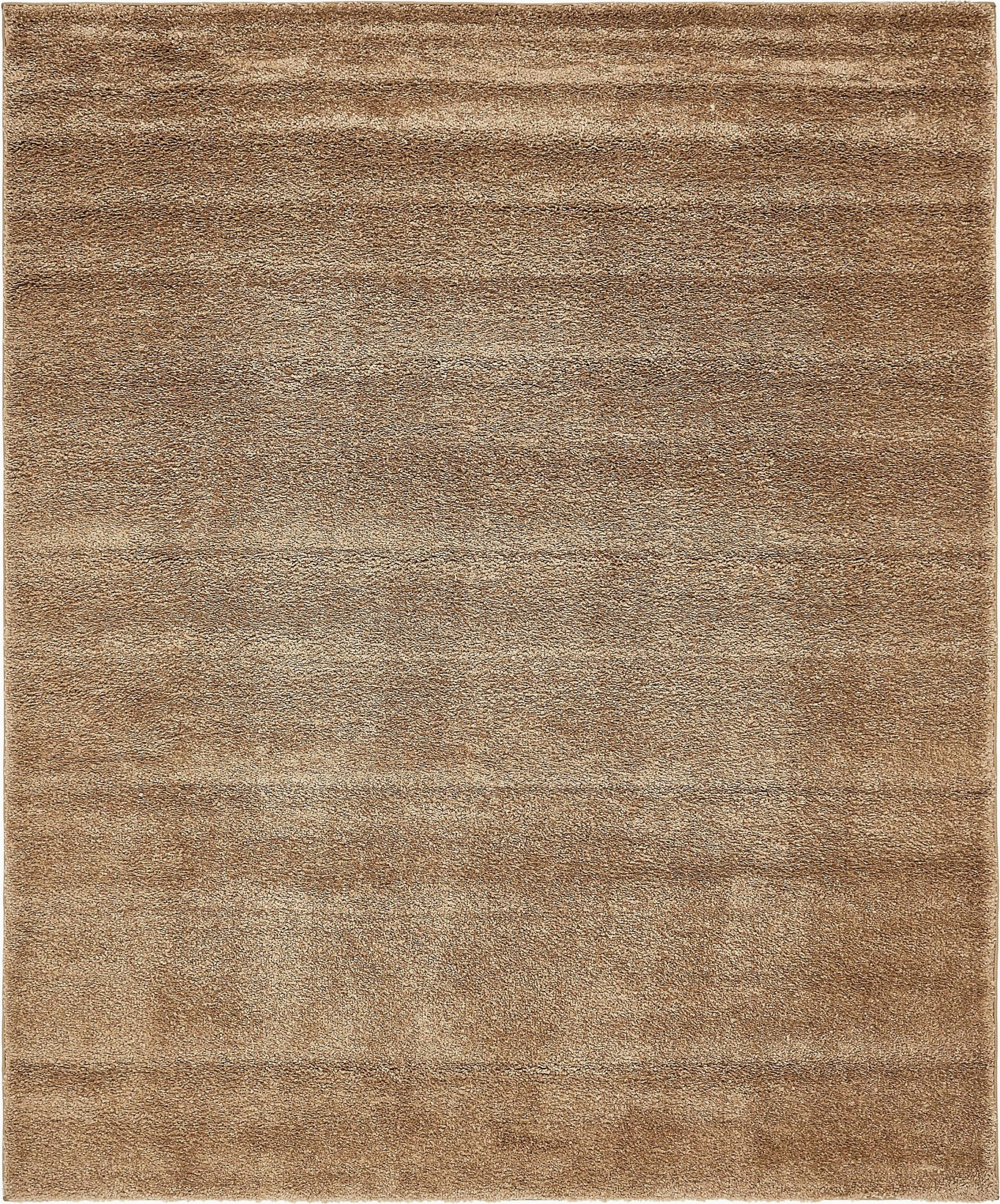 Light Brown area Rug 8×10 Light Brown 8 X 10 solid Frieze Rug Spon Brown