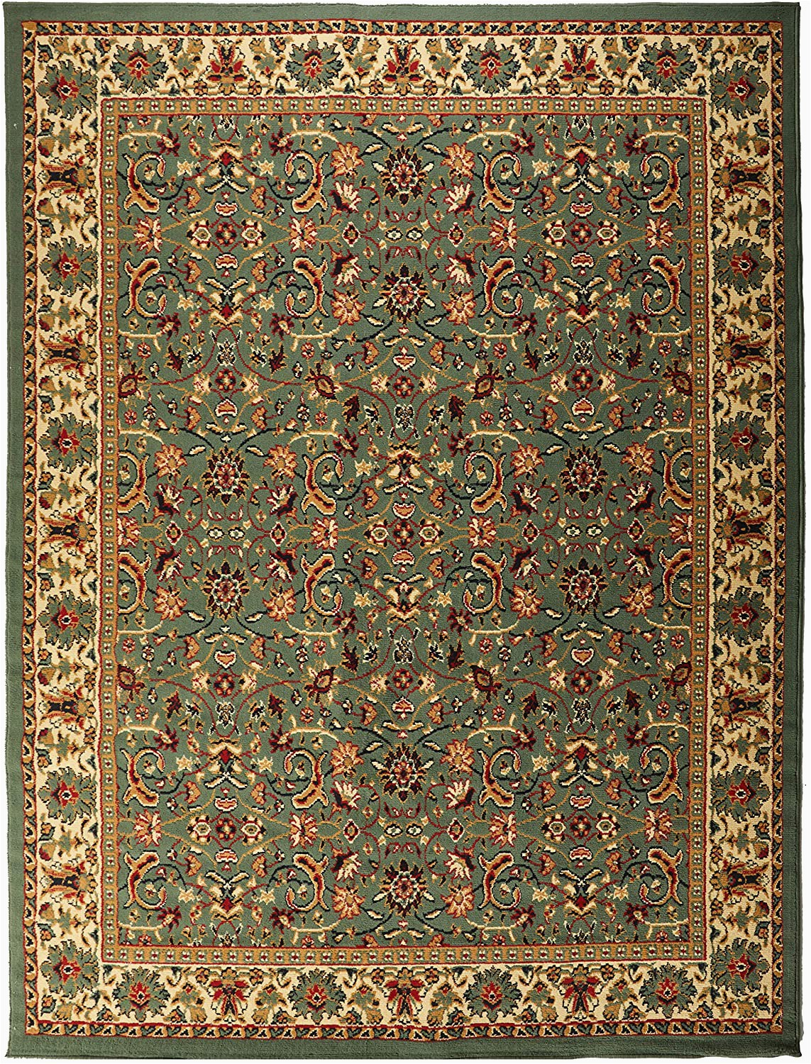 Living Room area Rugs Amazon Traditional area Rug Medallion Green Rugs for Living Room 8x10 Under 100