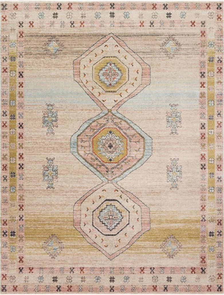 Magnolia Home Collection area Rugs Graham Gra 04 Antique Ivory Multi area Rug Magnolia Home by Joanna Gaines