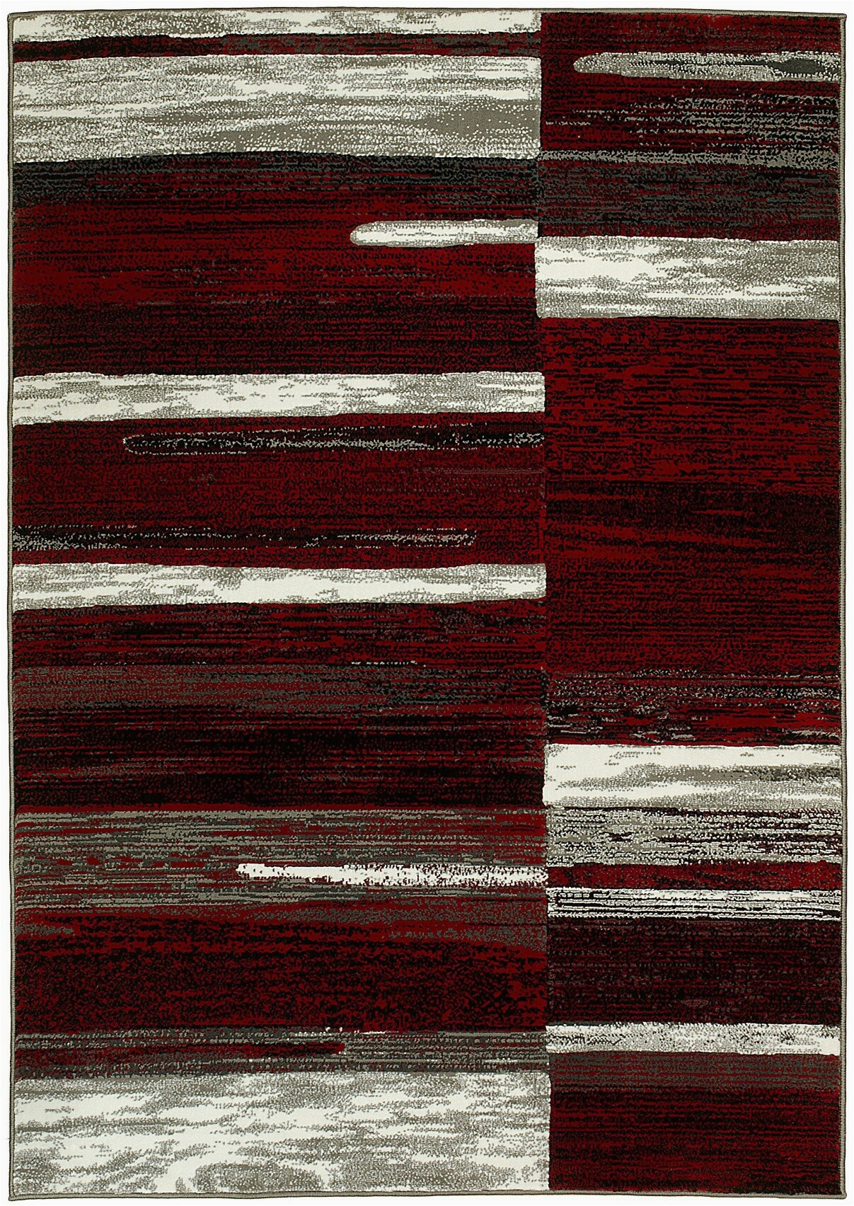 Maroon and Gray area Rugs Abstract Burgundy Gray Black area Rug