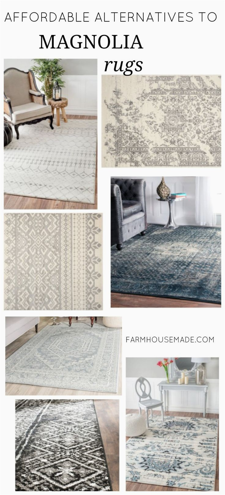 Modern Farmhouse area Rug Ideas What to Do when You Can T Afford Joanna S Rugs