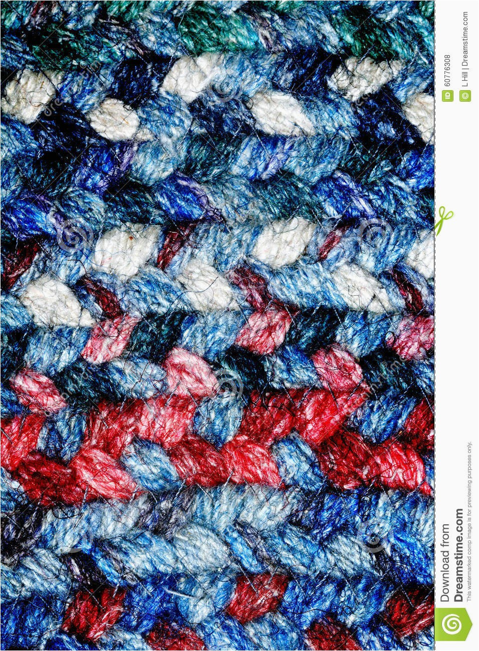 Red White and Blue Braided Rugs Red White and Blue Braided Rug Stock Image Of