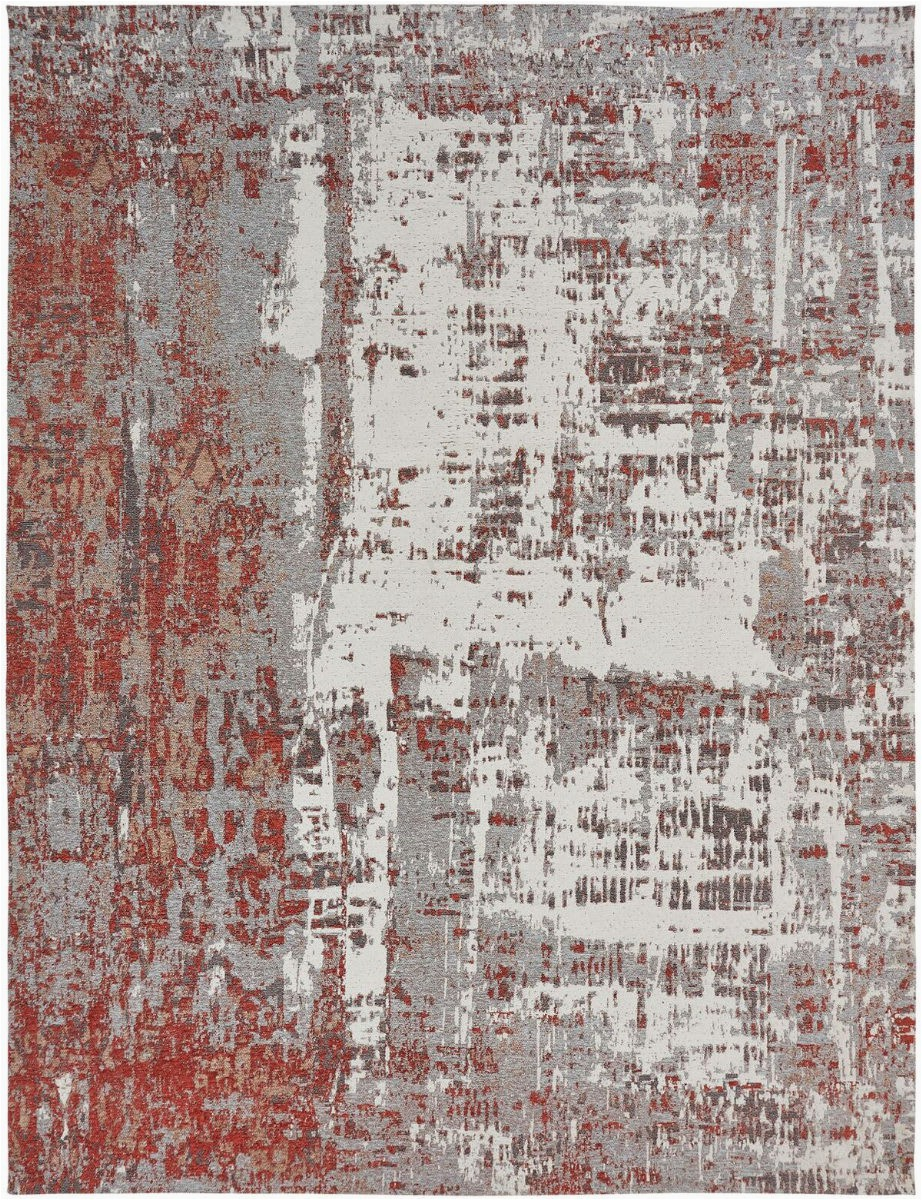 Rust and Gray area Rug Kalaty Jardin Jr 643 Rust Grey area Rug