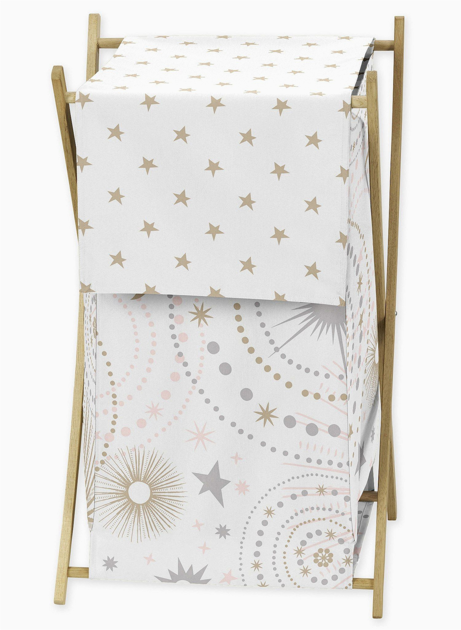 Sweet Jojo Designs area Rug Sweet Jojo Designs Pink and Gold Celestial Collection