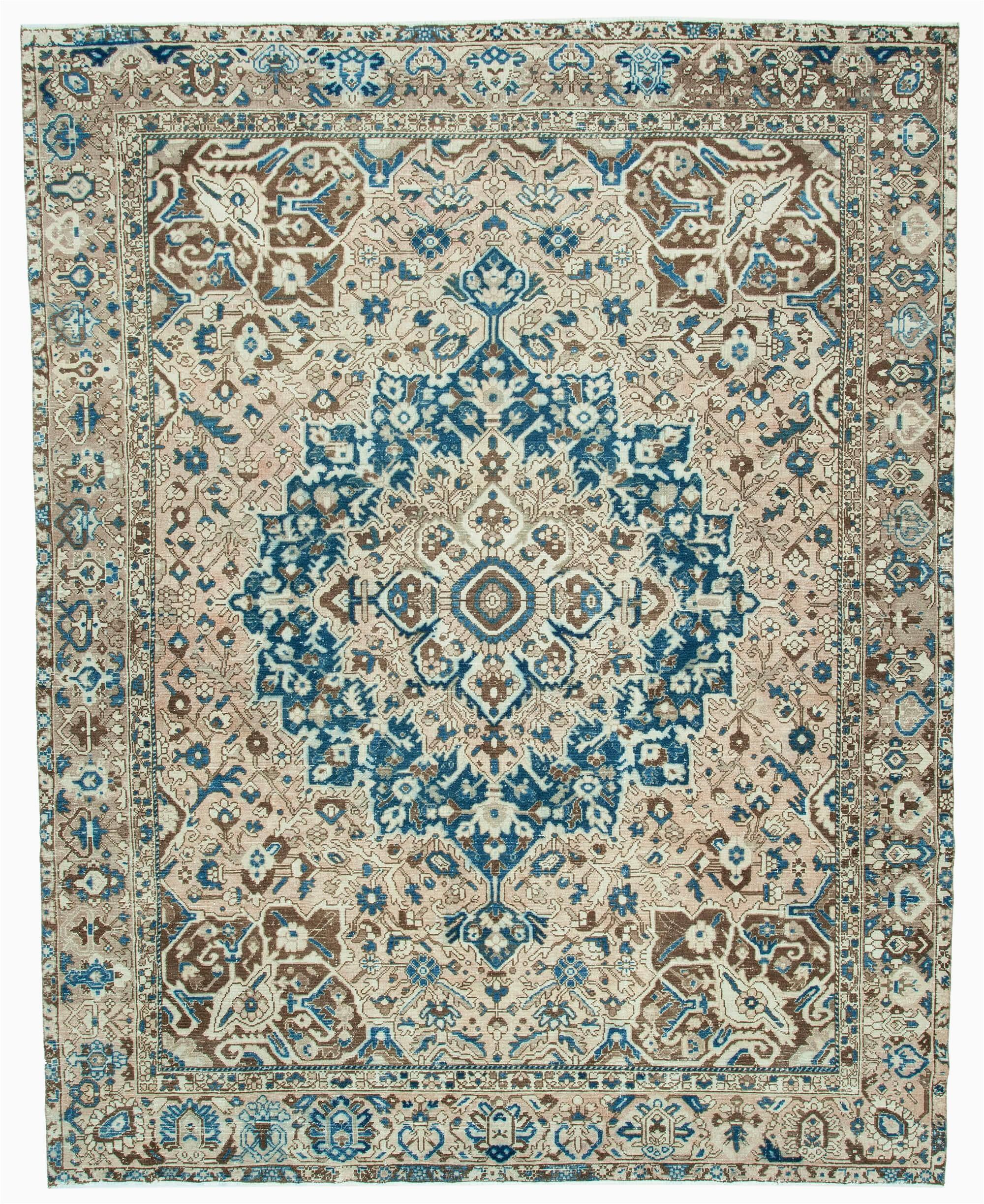 10×12 area Rugs Near Me 10×12 Beige Turkish Vintage Wool area Rug 2469