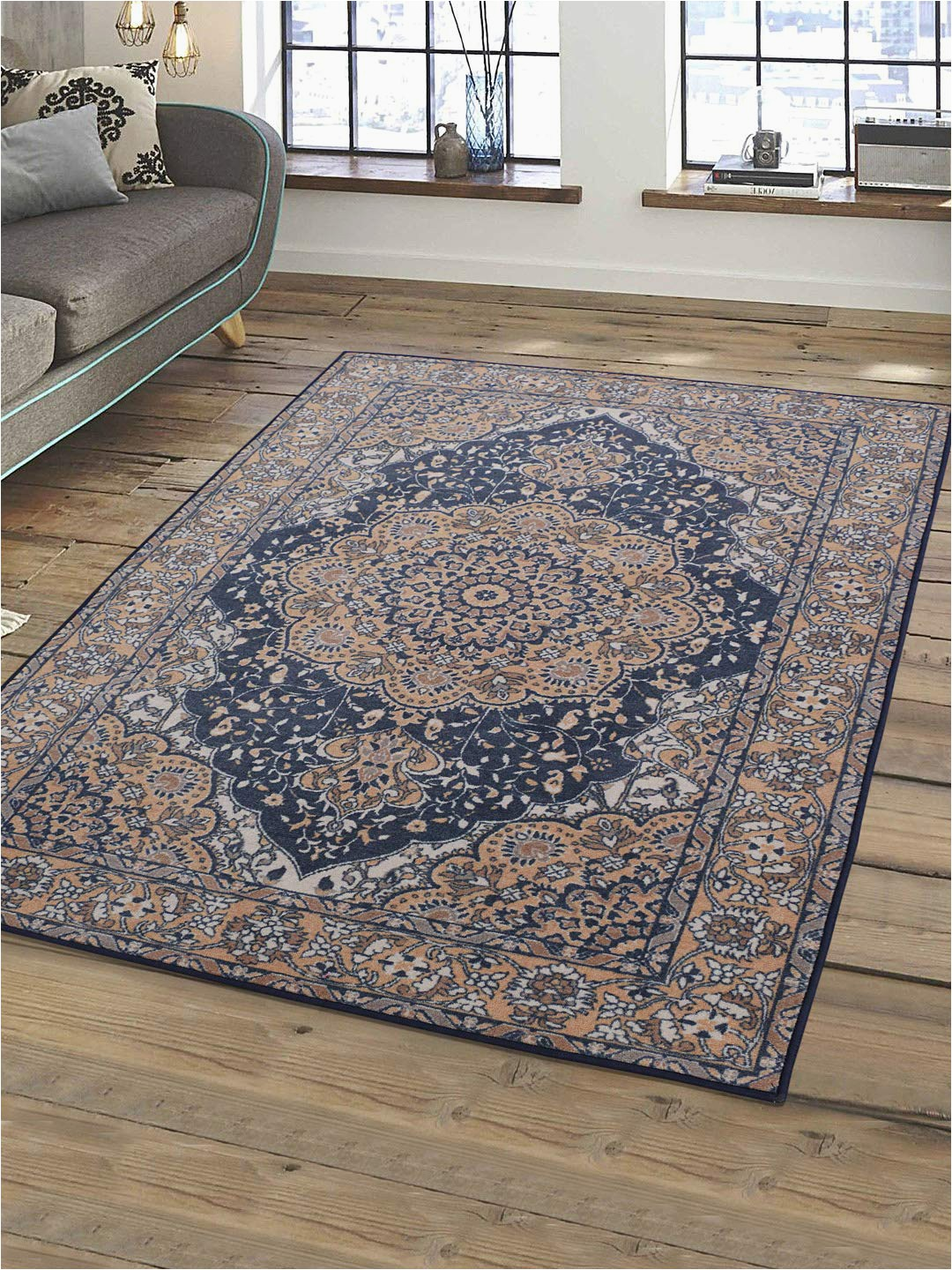 4×6 Non Skid area Rug Buy Rugsmith solid Pattern 4 X 6 Feet area Rug Line at Low