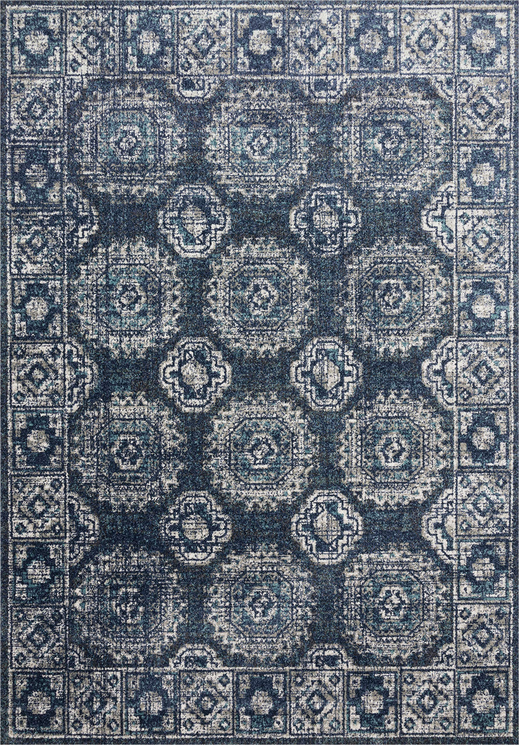 "8 by 7 area Rugs Amazon Loloi Joaquin Joa 03 area Rugs 5 3"" X 7 8"