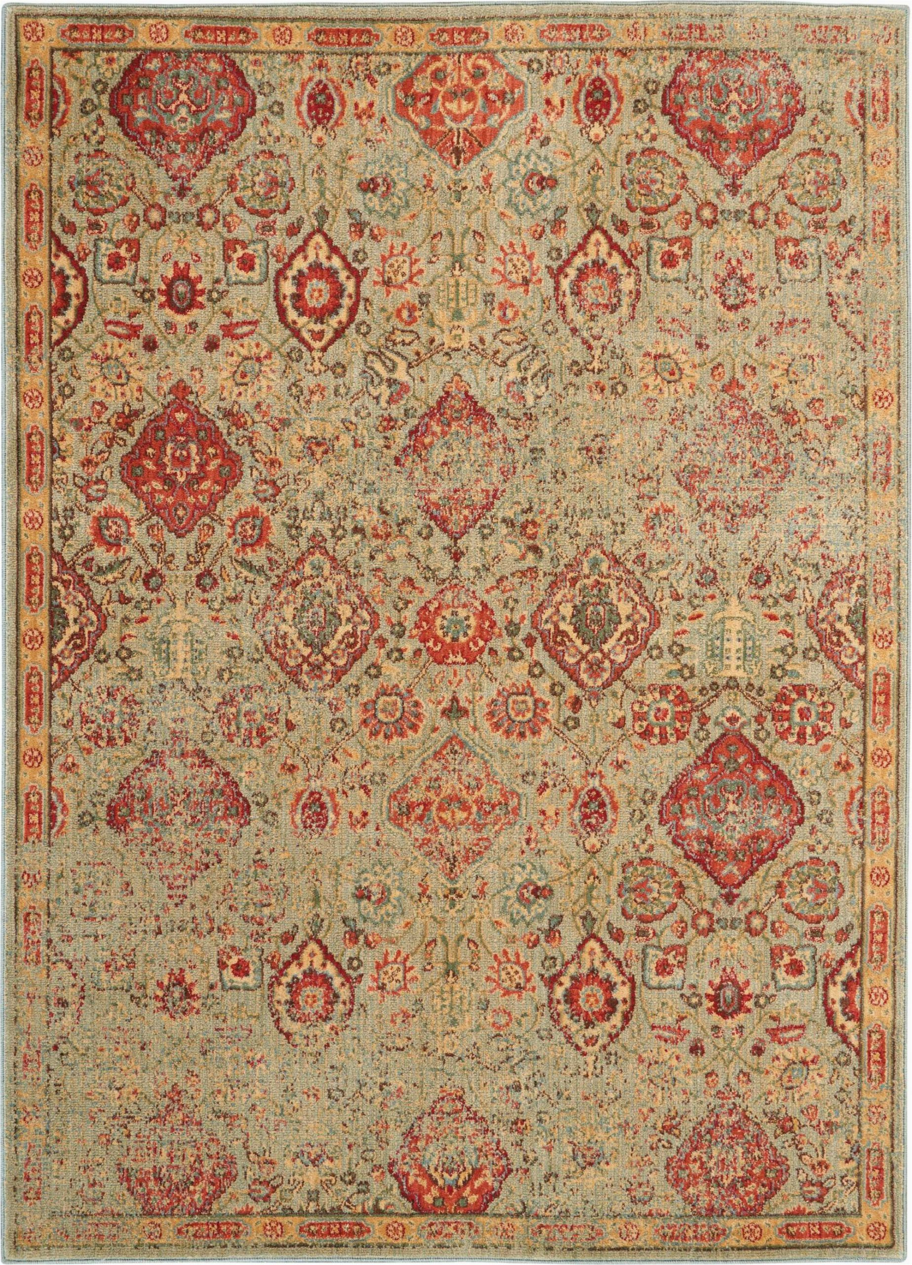 Area Rugs Green Bay Wi Lowndes oriental Light Green area Rug