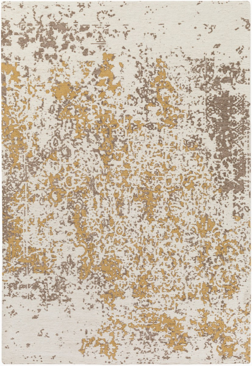 Beige and Gold area Rugs Surya Egypt Lara area Rug
