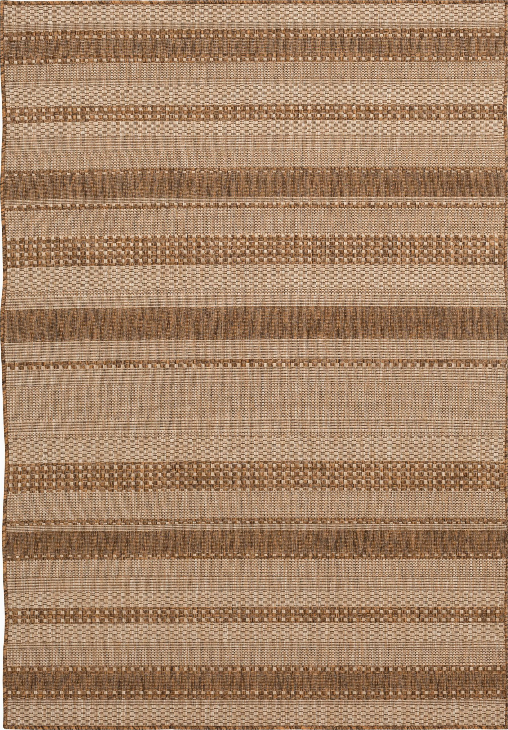 Better Homes and Gardens 5×7 area Rugs Better Homes & Gardens 5 X 7 Natural Stripe Indoor Outdoor area Rug Walmart