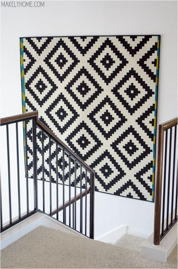 Black and White area Rugs Ikea 10 Ikea Rug Hacks Creative Uses for Ikea Rugs