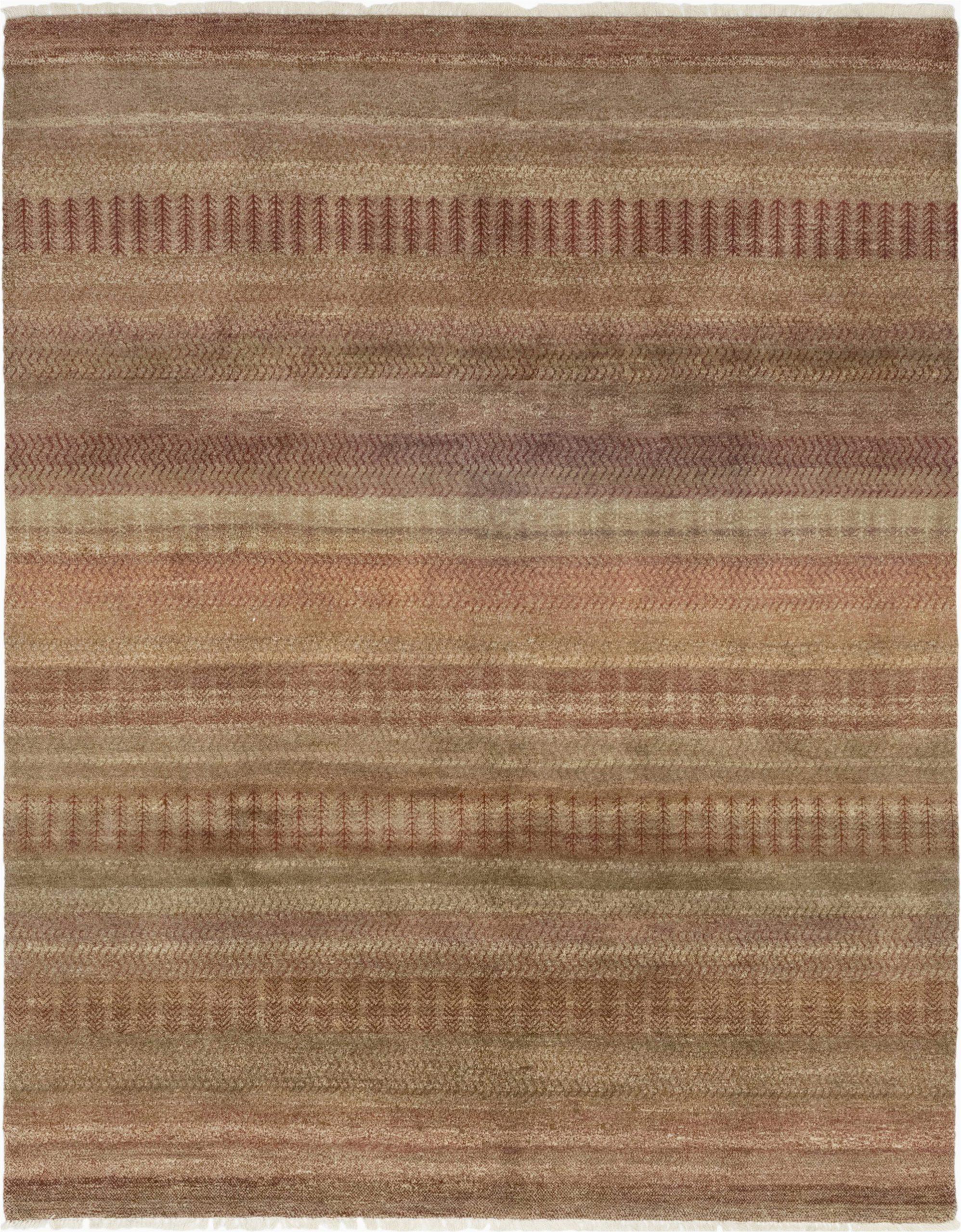 "Earth tone Color area Rugs Savannah Hand Knotted area Rug 8 0"" X 10 4"""