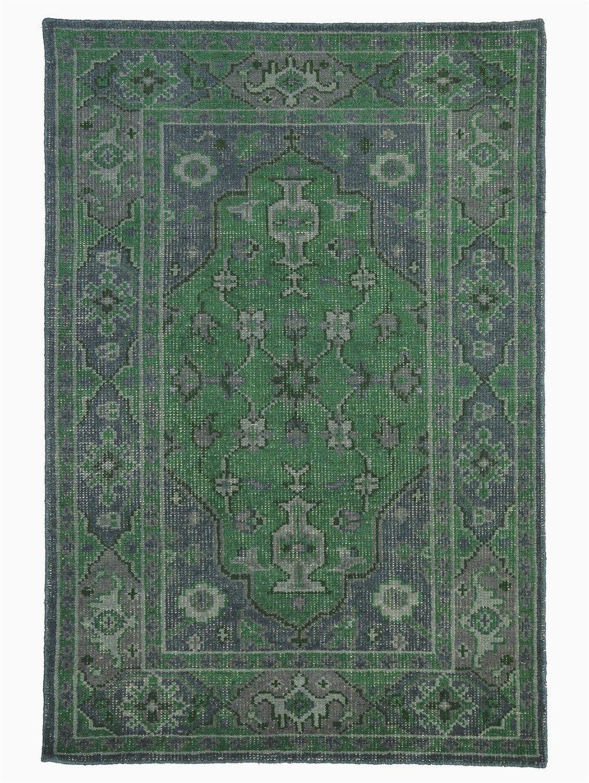 Modern Emerald Green area Rug $1320 8x10 Satya Rug