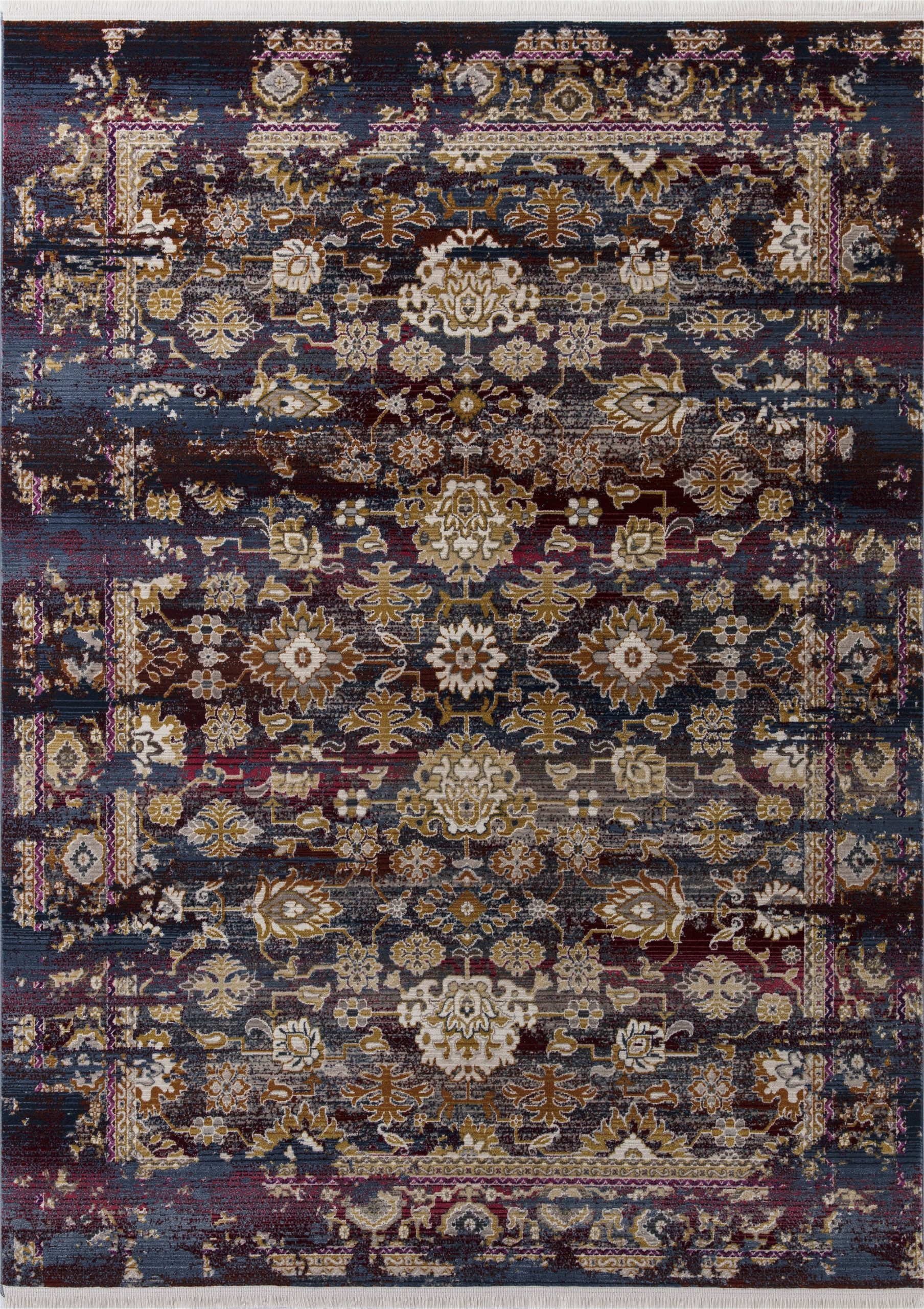 Purple and Brown area Rugs Latona Purple Brown area Rug