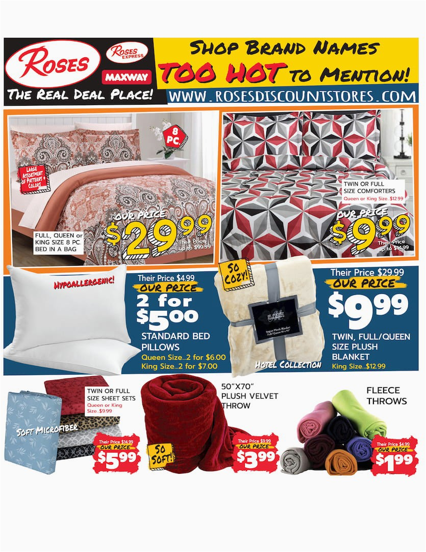 Roses Department Store area Rugs Our Current Ad — the Roses Discount Store Circular