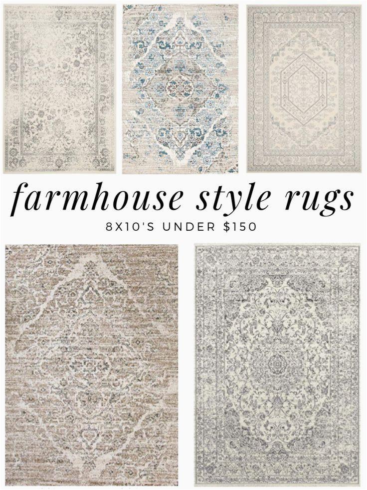 8×10 area Rugs Under $150 Farmhouse Style Rugs Under $150 asiatischerezepte