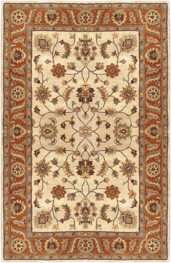 Area Rugs 10 X 14 Lowes Surya Crowne Traditional area Rug 10 Ft X 14 Ft Rectangular Beige