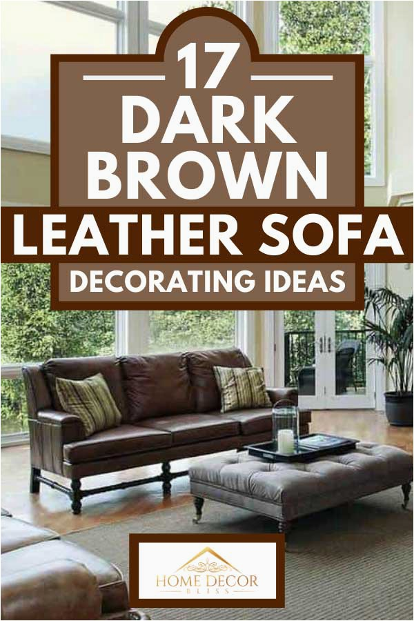 Area Rugs to Match Brown Couch 17 Dark Brown Leather sofa Decorating Ideas Home Decor Bliss