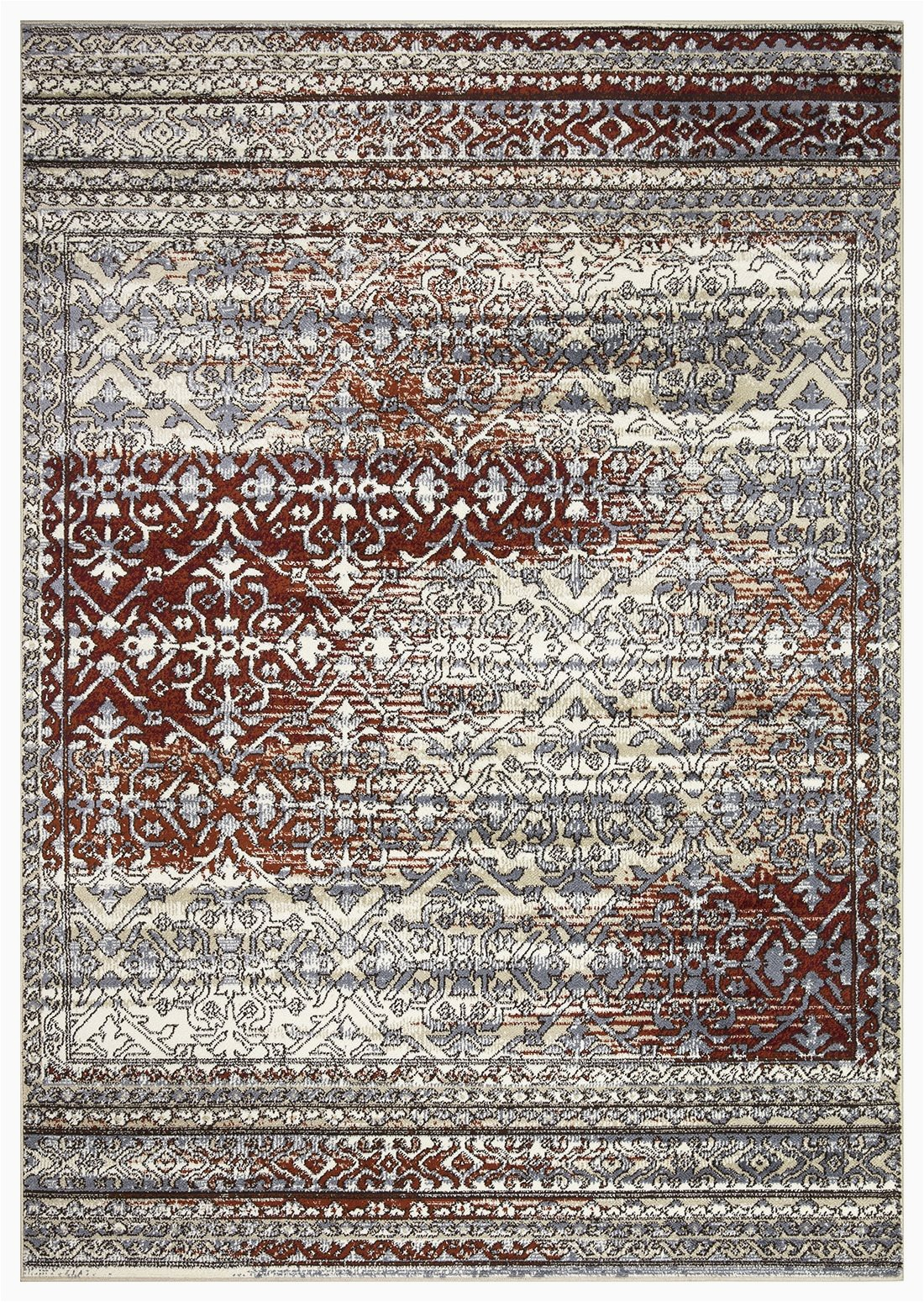 """Area Rugs with Burgundy In them Artemis Collection Vintage oriental area Rug 1006a Burgundy 5 2"""" X 7 6"""""""