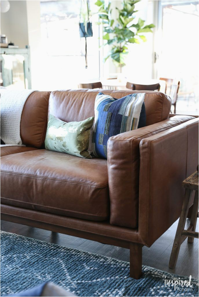Best area Rug for Brown Leather Furniture Brown Leather sofa Choosing A Rug for My Apartment Living