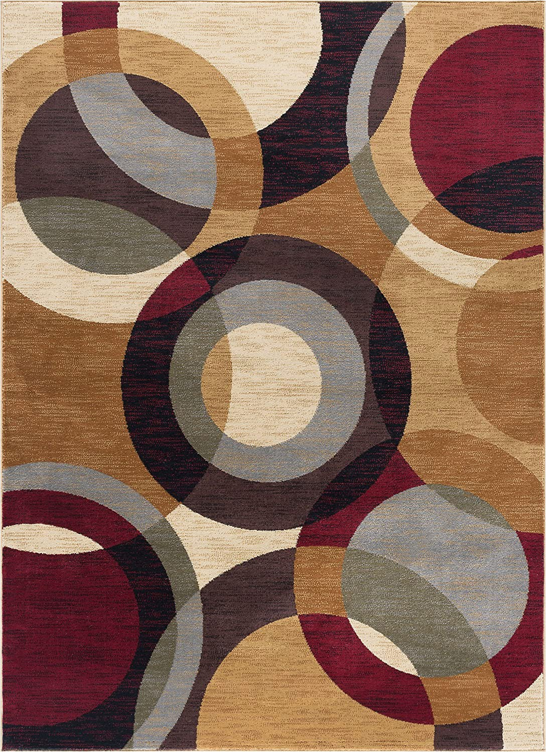 Contemporary Multi Color area Rugs Verona Contemporary Geometric Multi Color Rectangle area Rug 5 X 7