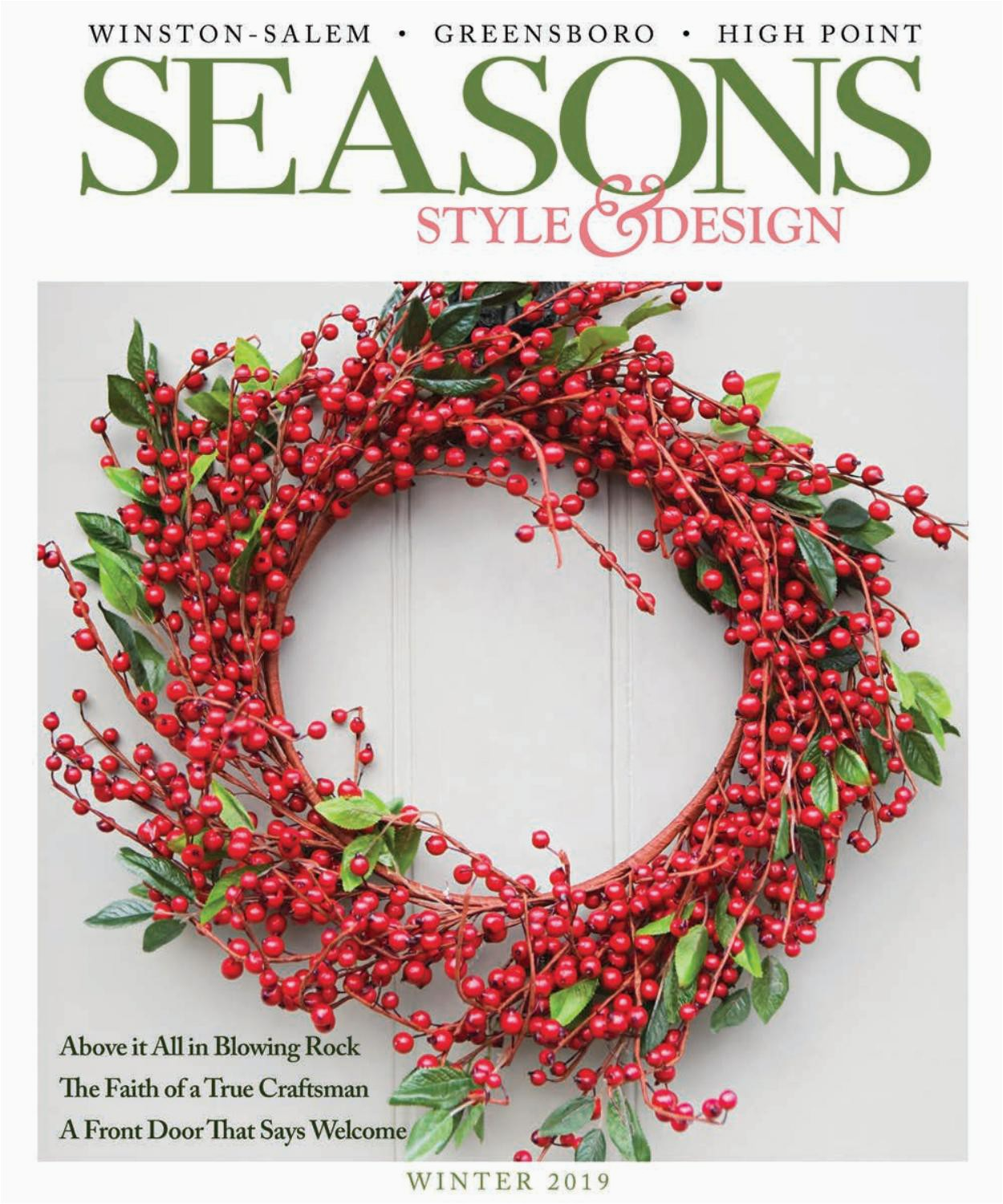 Copper Grove Uwharrie Floral area Rug Seasons Winter 2019 by O Henry Magazine issuu